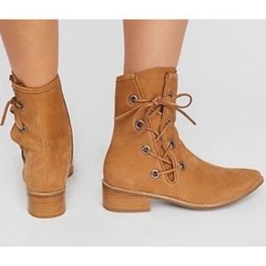 Free people voyage lace up boots